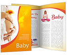 Pregnant Woman Brochure Template