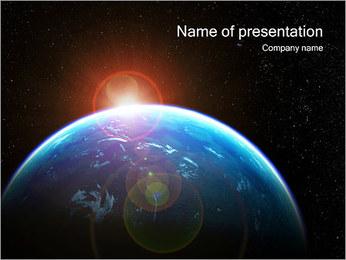 Planète Modèles des présentations  PowerPoint