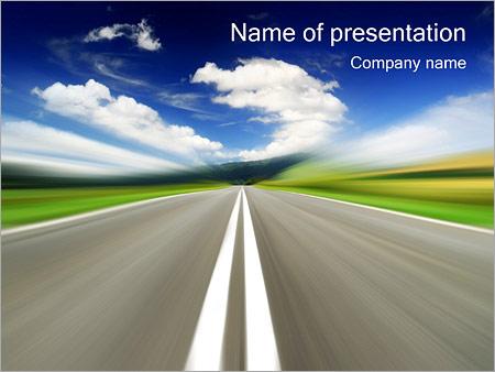Highway PowerPoint Template