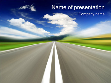 Highway powerpoint template backgrounds google slides id highway powerpoint template toneelgroepblik Images