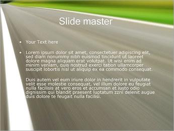 Carretera Plantillas de Presentaciones PowerPoint