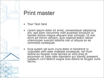 Planification de la Maison Modèles des présentations  PowerPoint