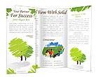 Green Trees Brochure Templates