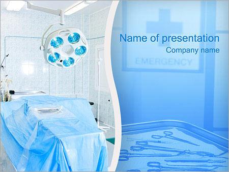 Operating room powerpoint template backgrounds id 0000000828 operating room powerpoint templates toneelgroepblik Gallery