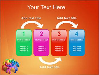 Trabalho em equipe Modelos de apresentações PowerPoint - Slide 11