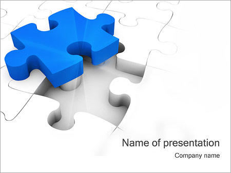 Jigsaw Puzzle Powerpoint Template Backgrounds Google Slides Id