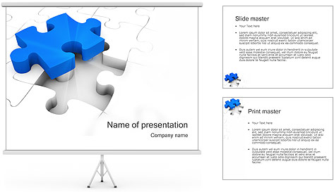 Jigsaw Puzzle PowerPoint Template Backgrounds ID 0000000833 – Puzzle Powerpoint Template