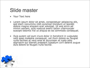 Quebra-cabeça Modelos de apresentações PowerPoint