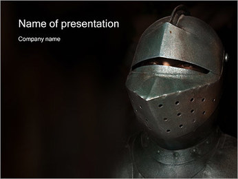 Medieval Knight PowerPoint Template