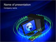 Digital Information PowerPoint Templates