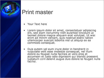 Digital Information PowerPoint Template - Slide 24