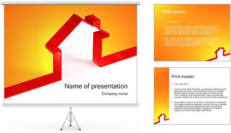 Shape House PowerPoint Template