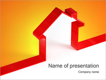 Shape House PowerPoint Templates - Slide 1