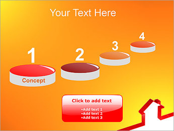 Shape House PowerPoint Templates - Slide 7