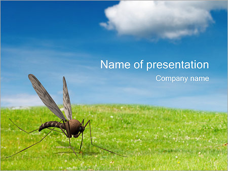 Mosquito powerpoint template backgrounds id 0000000845 mosquito powerpoint templates toneelgroepblik