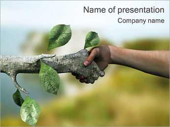 Human & Nature PowerPoint Template