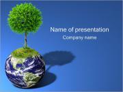 Сохранить зеленый мир Шаблоны презентаций PowerPoint