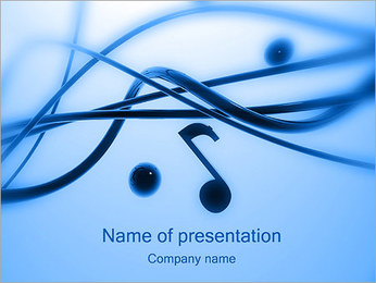 Melody PowerPoint Template