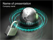 Internet Security Sjablonen PowerPoint presentaties