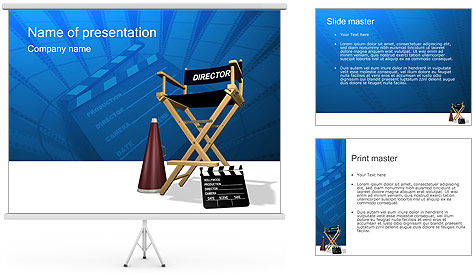 Director PowerPoint Template