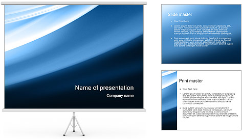 Waves PowerPoint Template