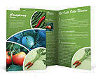 Vegetables Brochure Templates