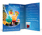 Cocktails Brochure Templates