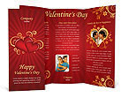 Valentines Day Brochure Templates