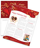 Valentines Day Newsletter Templates