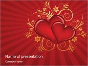 Saint Valentin Modèles des présentations  PowerPoint
