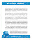Knowledge & Thinking Letterhead Template