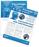 Knowledge & Thinking Newsletter Template