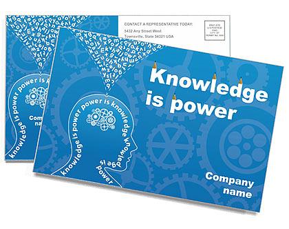 Знания и мышление Почтовые открытки