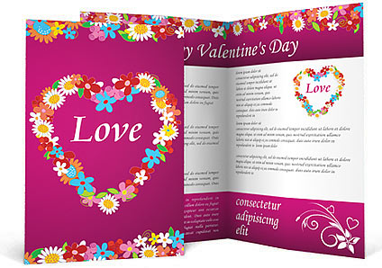 Love Brochure Template