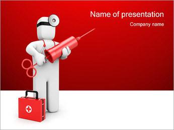 Injeção Modelos de apresentações PowerPoint - Slide 1