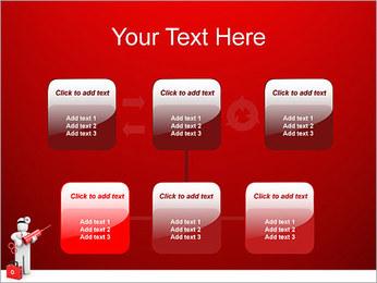 Injeção Modelos de apresentações PowerPoint - Slide 23