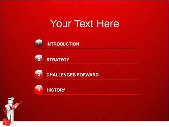 Injeção Modelos de apresentações PowerPoint - Slide 3