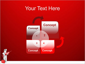 Injeção Modelos de apresentações PowerPoint - Slide 5