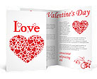 Love Hearts Brochure Templates