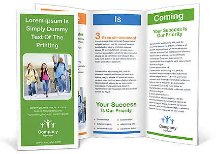 School Children Brochure Template Design ID - School brochures templates