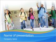 School Children PowerPoint Templates