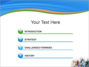 School Children PowerPoint Template - Slide 3