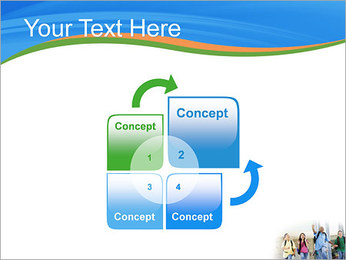 School Children PowerPoint Template - Slide 5
