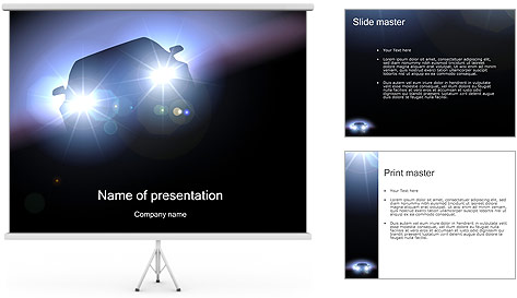 Auto PowerPoint Template