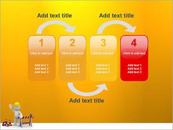 Under Construction & Trabalhador Modelos de apresentações PowerPoint - Slide 11