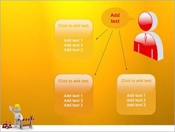 Under Construction & Trabalhador Modelos de apresentações PowerPoint - Slide 12
