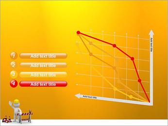 Under Construction & Trabalhador Modelos de apresentações PowerPoint - Slide 13