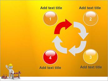 Under Construction & Trabalhador Modelos de apresentações PowerPoint - Slide 14