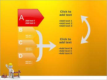 Under Construction & Trabalhador Modelos de apresentações PowerPoint - Slide 16