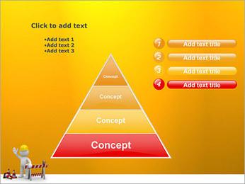 Under Construction & Trabalhador Modelos de apresentações PowerPoint - Slide 22